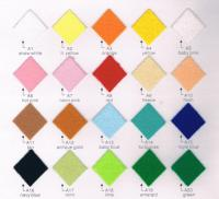Acrylic Felt Color Card 01