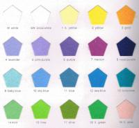 Polyester Felt Color Card 01