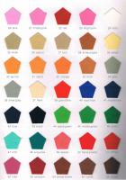 Polyester Felt Color Card 02