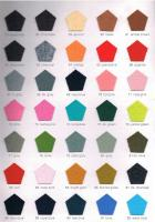 Polyester Felt Color Card 03